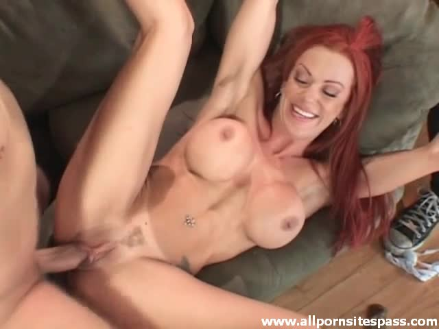 Latina Mom Swallows Cum