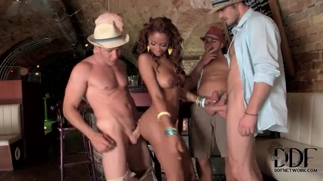 Three Guys Sucking And Fucking